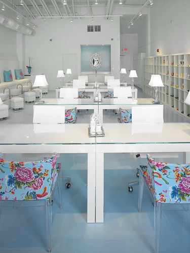 polished beauty lounge habachy designs interior design. Black Bedroom Furniture Sets. Home Design Ideas