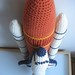 Crochet Space Shuttle