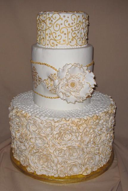 Wedding Edwardian Cakes White