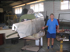 AHSNT B25 Tailcone Under Construction January 2007