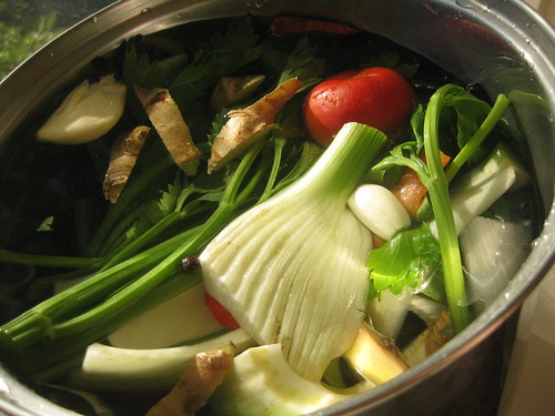 Veggie Brodo in the Afternoon