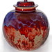 Pot pourri jar finished with a sang de boeuf glaze, Ruskin pottery, Smethwick, DPP_116 by Black Country Museums