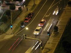 Night Traffic From 19th Floor