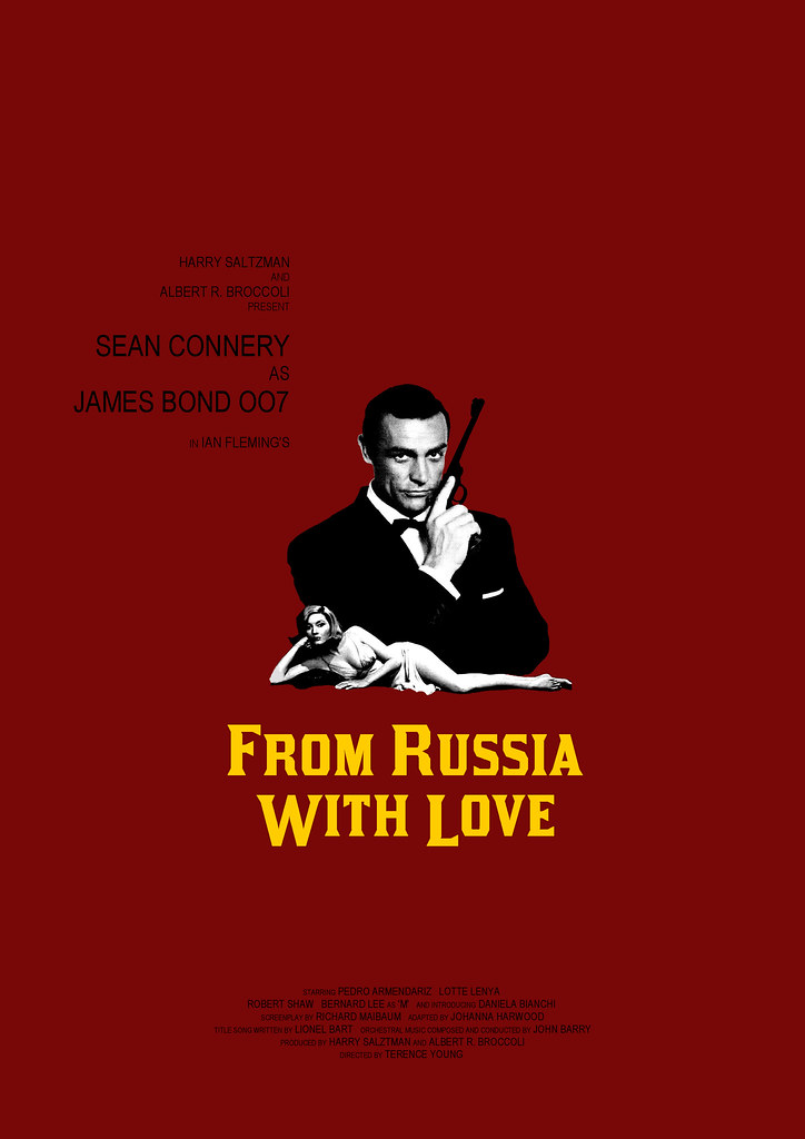 FROM RUSSIA WITH LOVE - a photo on Flickriver