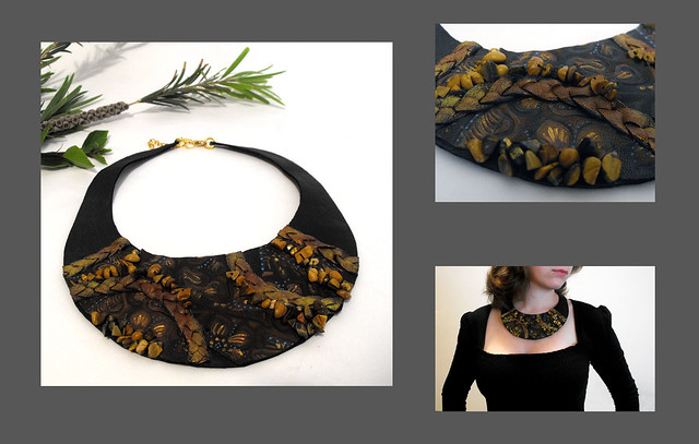 Fall 2011 Jewelry Trends - Collar Necklaces