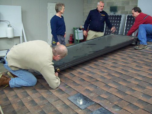 Panel Installation-Solar Thermal Training by Infinite Solar