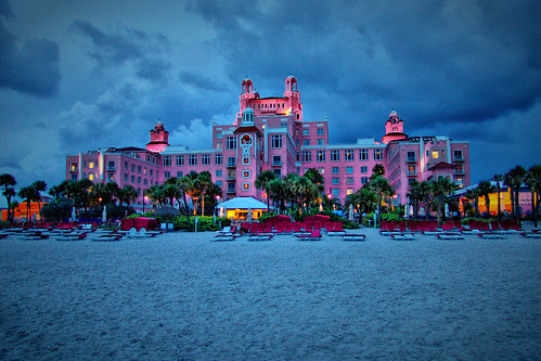 """Don Cesar"" Hotel Night Shot"