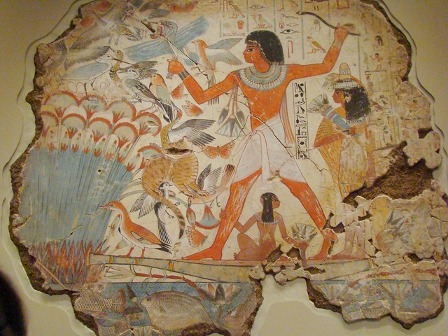 Egyptian tomb painting british museum flickr photo for Egyptian fresco mural painting