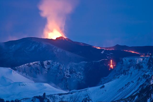 Volcanic Eruption Eyjafjallajökull