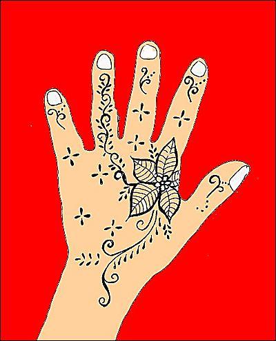 Henna Tattoo Hand Design 4  Flickr  Photo Sharing