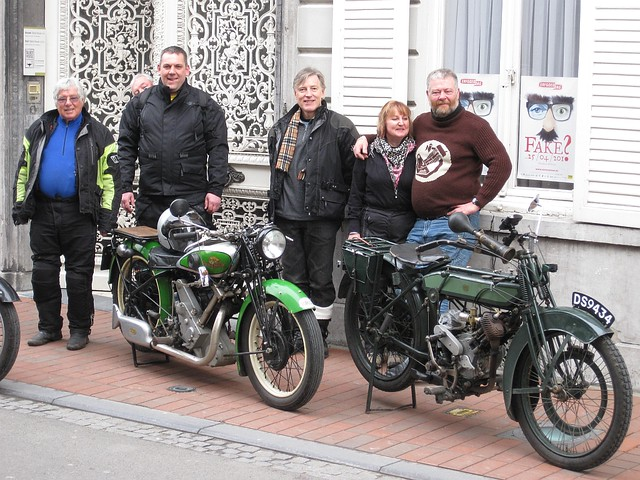 Some of the guys outside Talbot House