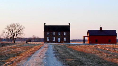 house barn sunrise de dawn nikon delaware nikkor f28 80200mm d80 oldabandoned bombayhooknationalwildliferefuge southerndelaware bhnwr whitehallneckroad