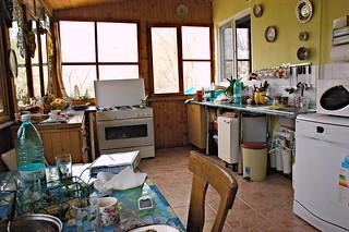 """Romanian """"outdoor"""" Kitchen"""