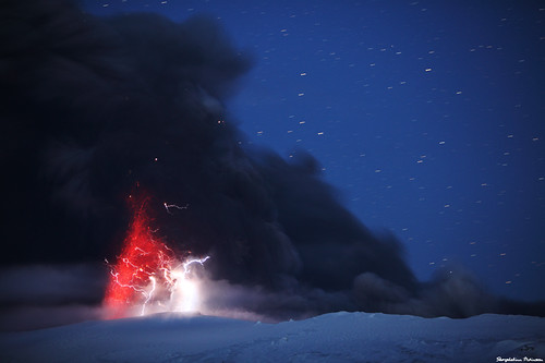 Eyjafjallajökull volcano - The Battle for Middle Earth