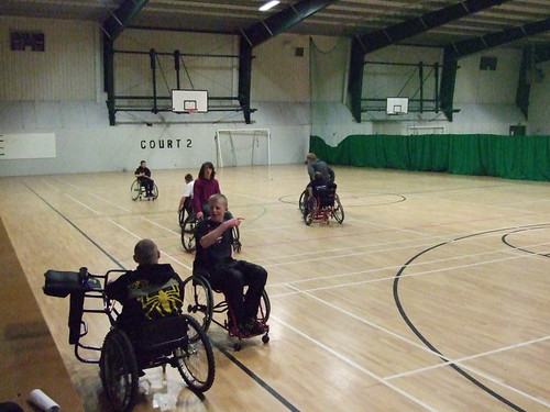 flickr: Wheelchair Basketball