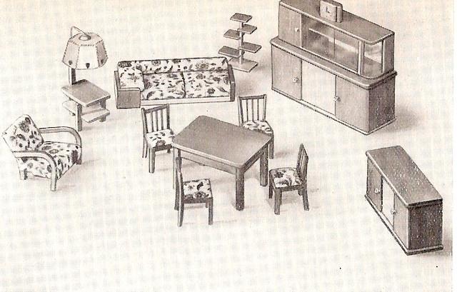 flickriver photoset 39 crailsheimer holzm bel 39 by diepuppenstubensammlerin. Black Bedroom Furniture Sets. Home Design Ideas