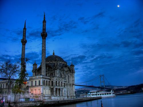 Ortaköy dzsámi - Sultan Abdülmecid