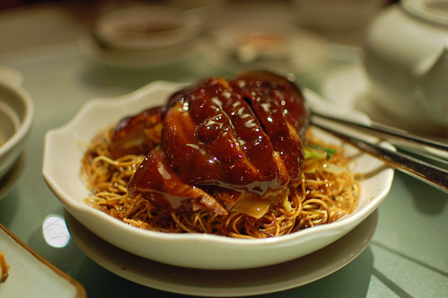 Crispy Noodles with Roast Duck