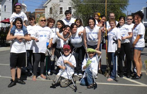 Volunteer Group at Holman