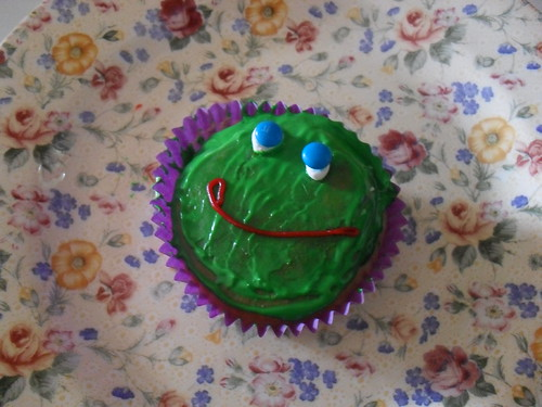 Frog Cupcakes! ♥