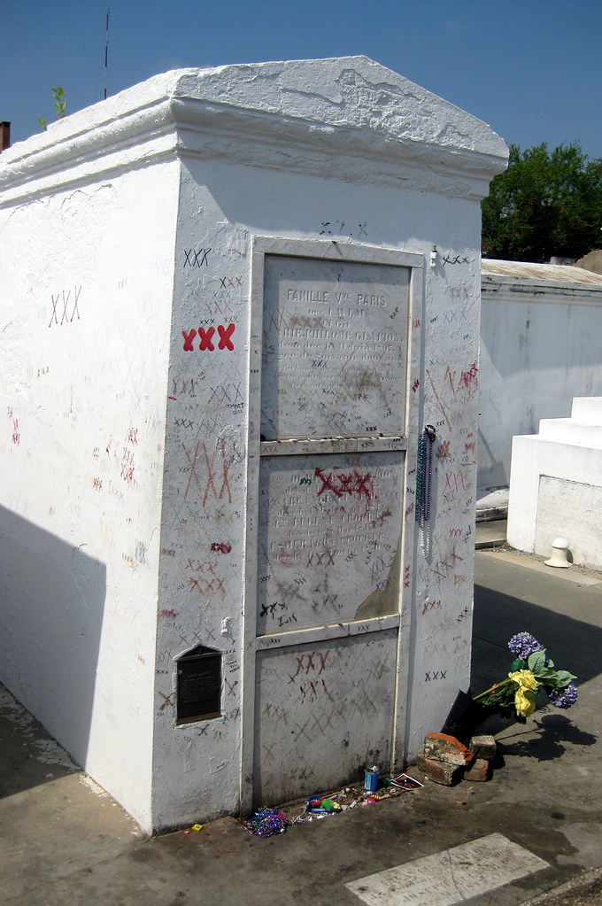 New Orleans - Iberville: St. Louis Cemetery #1 - Marie ...