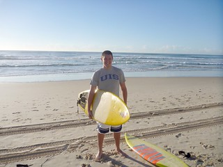 Brad ('05) at Surfer's Paradise, Australia