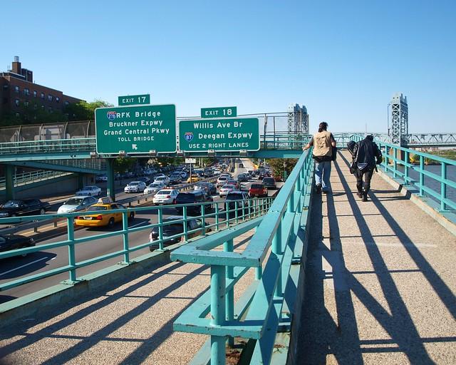 M184 East 120 Street Pedestrian Bridge Over The Fdr Drive