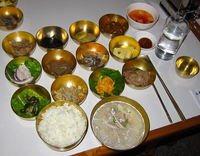 Pansanggi Dishes Uncapped by CC user 28705377@N04 on Flickr