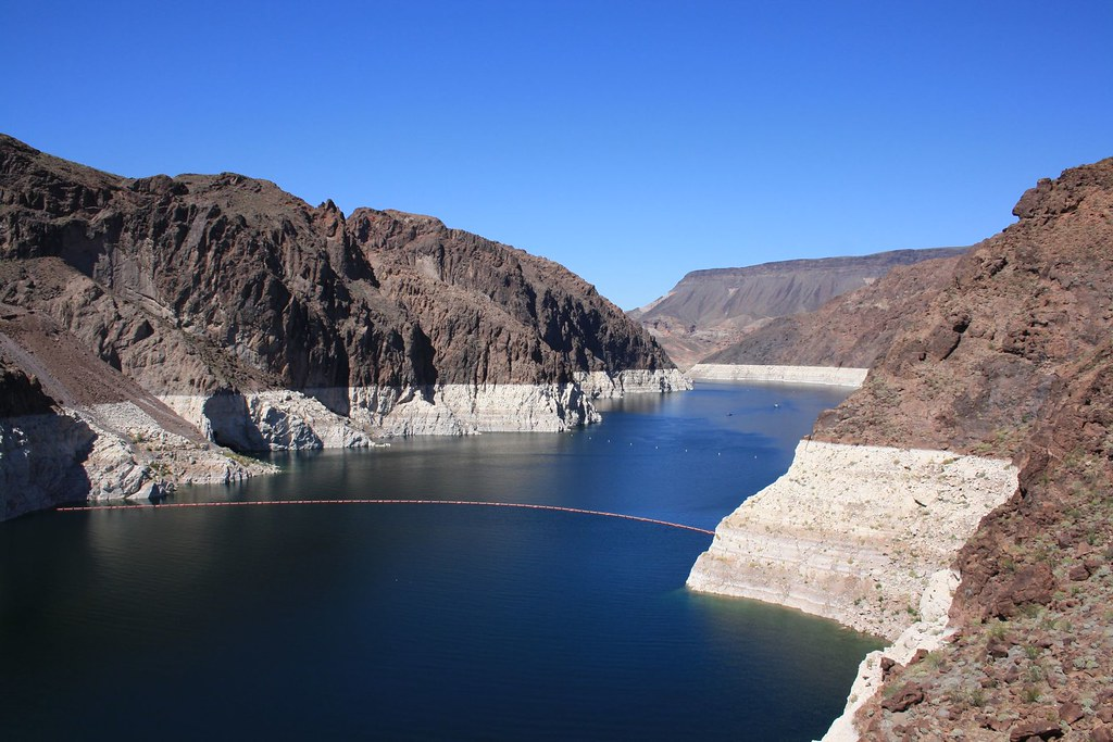 Lake Mead from Hoover Dam