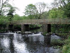 Footbridge over the Nidd