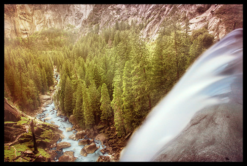 Yosemite - View from Vernal Falls