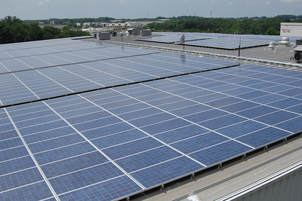 Rockville Ice Arena Solar Array