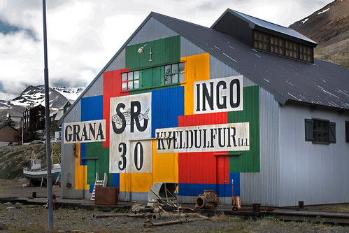 house mural in siglufjordur
