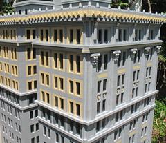 Penobscot Annex, Detroit, Michigan - LEGO Model