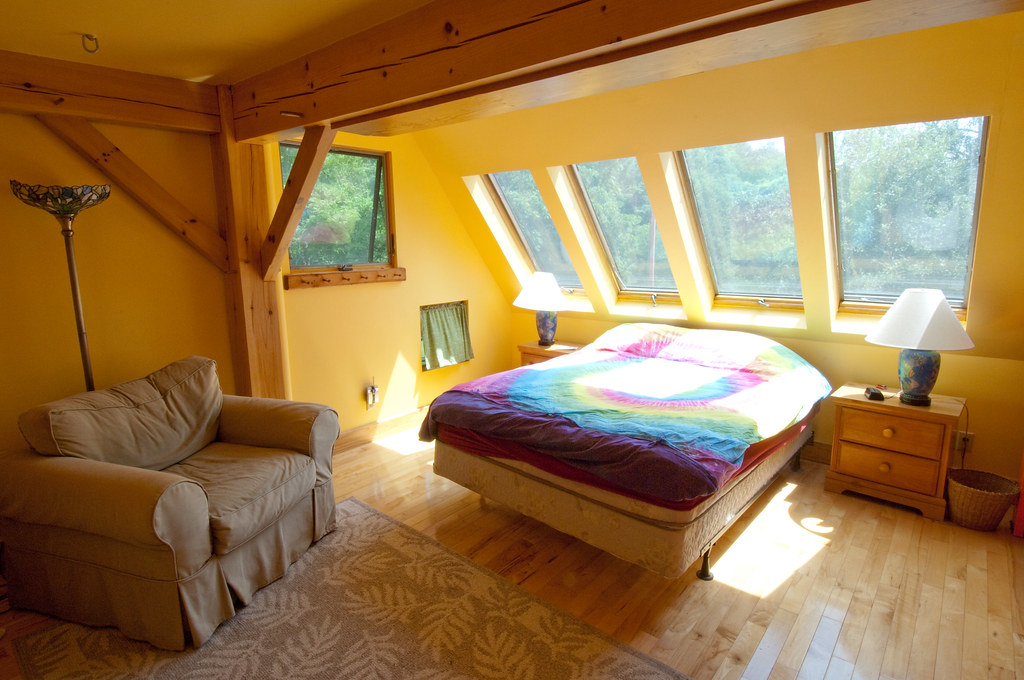 family bedroom sunlight dacha