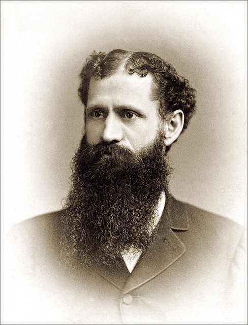Bearded Man By Boswick Of New York