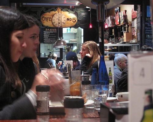 Melbourne laneway café