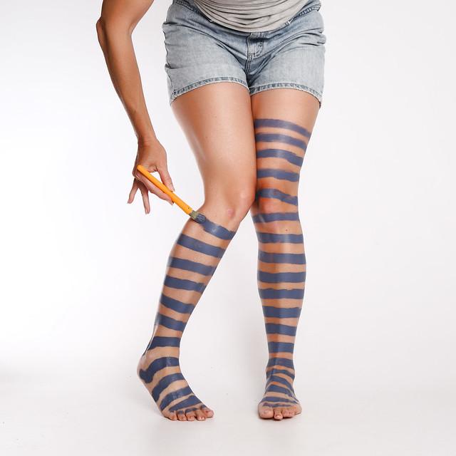 Painted On Socks 161