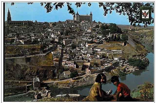 Niños en Toledo hacia 1970
