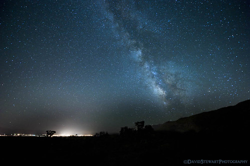 sky night stars space carsoncity milkyway davidstewartphotography