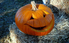 Halloween pumpkin, Smiley Pumpkin, carving pumpkins
