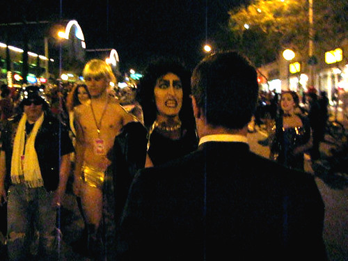 """We Can Take in an Old Steve Reeves Movie!"" It's ""The Rocky Horror Picture Show"" at the West Hollywood Halloween Party - 10/31/10"