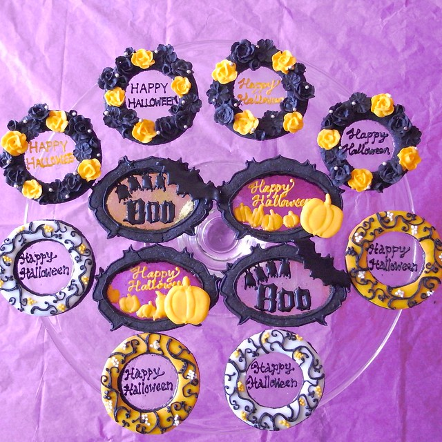 Stained Glass Halloween Cookies | Flickr - Photo Sharing!