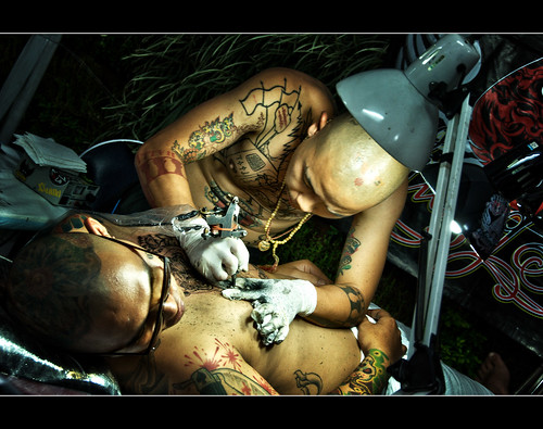Tattoo contest Bangkok 2010