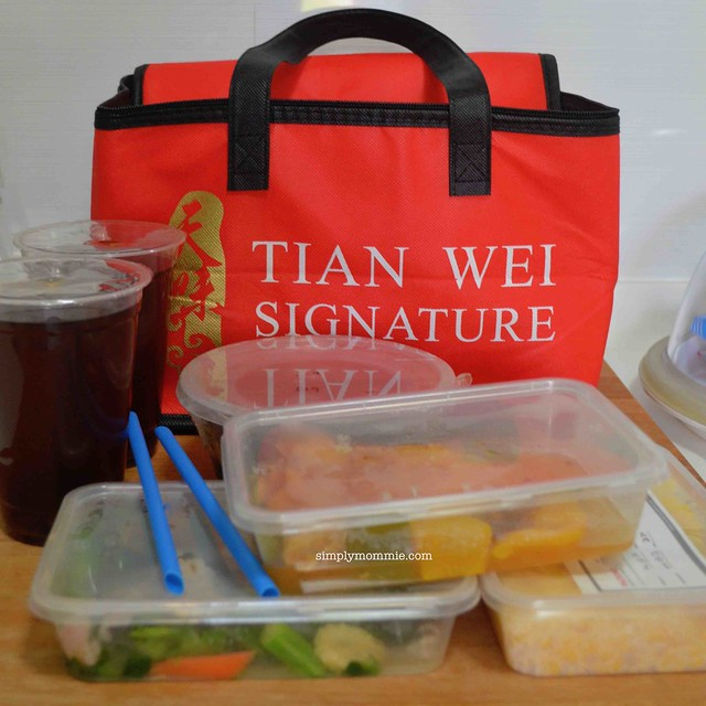 Tian Wei Signature Confinement food review