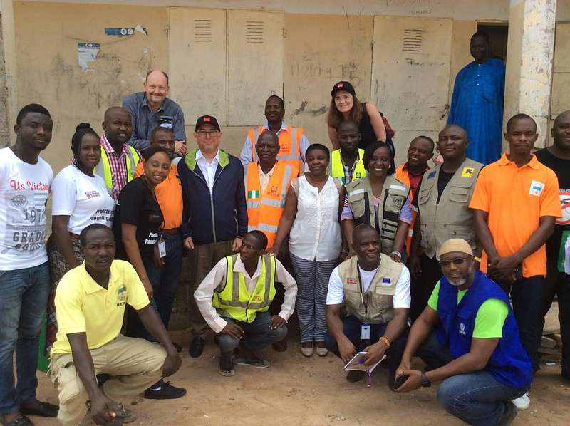 S&D field visit to Nigeria and Guinea, May 2017
