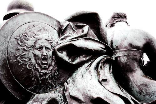 El escudo de Atenea