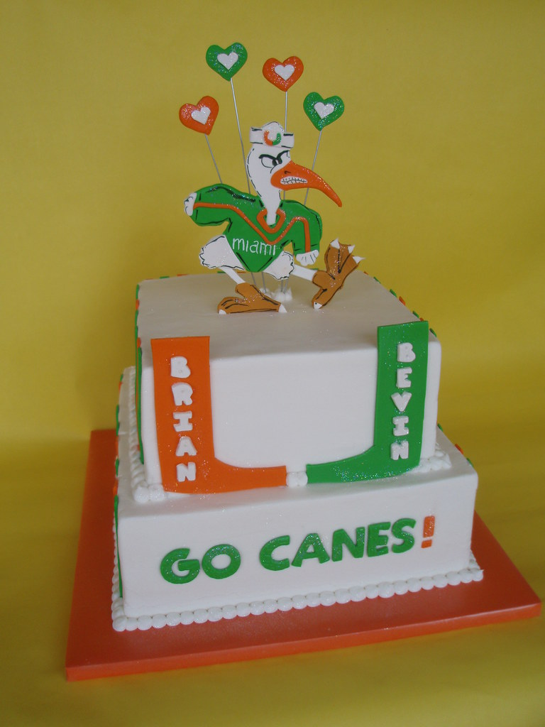 Um Hurricanes Grooms Cake A Photo On Flickriver