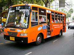 New Bangkok Orange Minibus