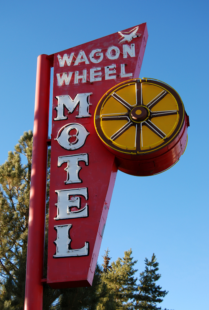 Wagon Wheel Motel - 340 6th Street, Wells, Nevada U.S.A. - November 30, 2009